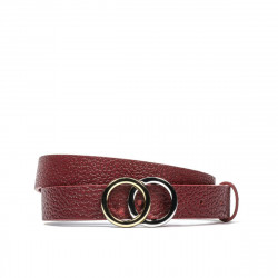 Women belt 09m biz red