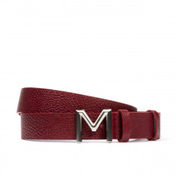 Women belt 17m biz red