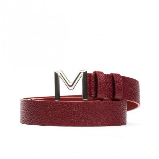 Women belt 17m biz red