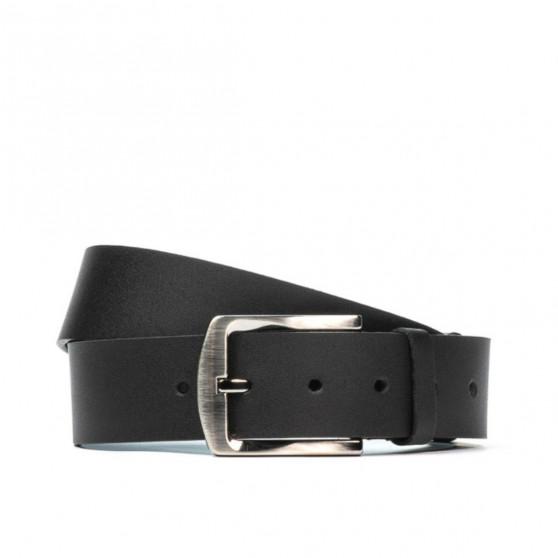 Men belt / women 01b black mat