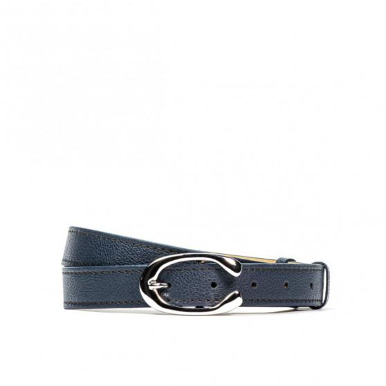Women belt 15mc biz blue