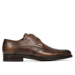 Men stylish, elegant shoes 907 a sand