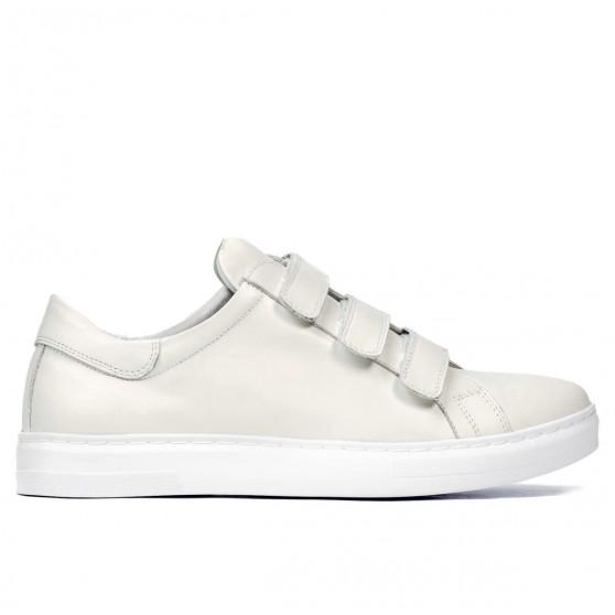Pantofi sport barbati 893sc alb scai