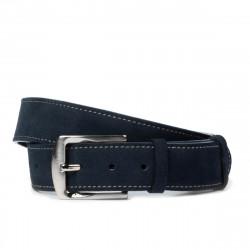 Men belt / women 01bc blue velour