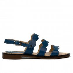 Women sandals 5069 blue electric