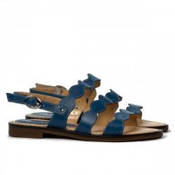 Sandale dama 5069 albastru electric