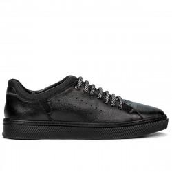 Men sport shoes 913 black