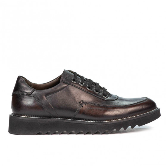 Men casual shoes 909 a brown