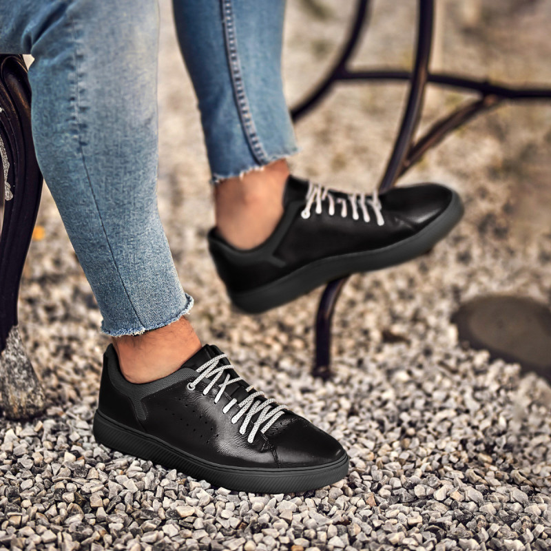 Pantofi sport barbati 913 negru lifestyle