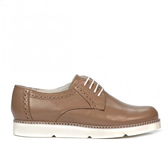 Pantofi casual dama 6022 capucino