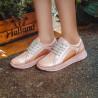 Pantofi sport/casual dama 6010 pudra sidef combinat lifestyle