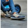 Teenagers stylish, elegant shoes 374 indigo combined