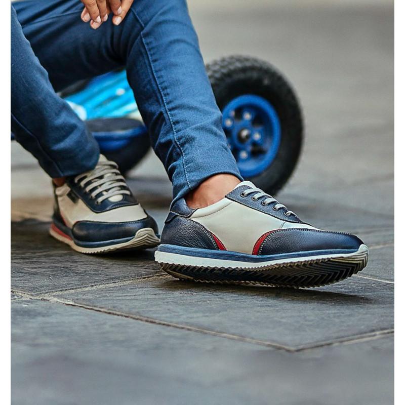 Pantofi sport adolescenti 374 indigo combinat lifestyle