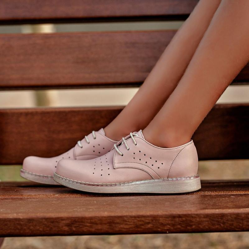 Pantofi copii 173 pudra lifestyle