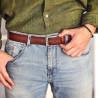 Men belt 34b a brown
