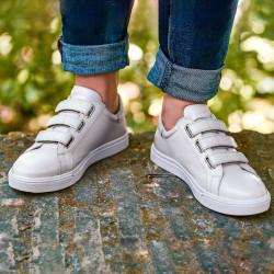 Men sport shoes 893sc white scai