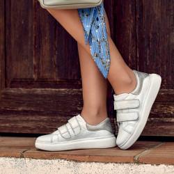 Women sport shoes 6008sc white combined