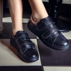 Pantofi sport dama 6008sc negru combinat