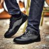 Pantofi sport barbati 886 negru combinat lifestyle