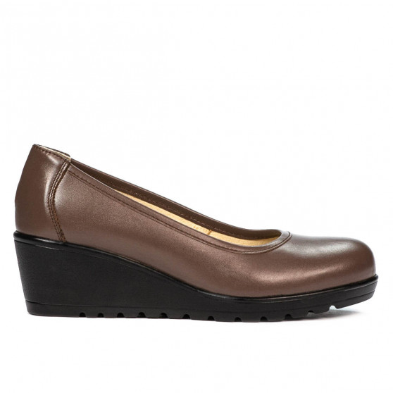 Pantofi casual dama 6021 capucino