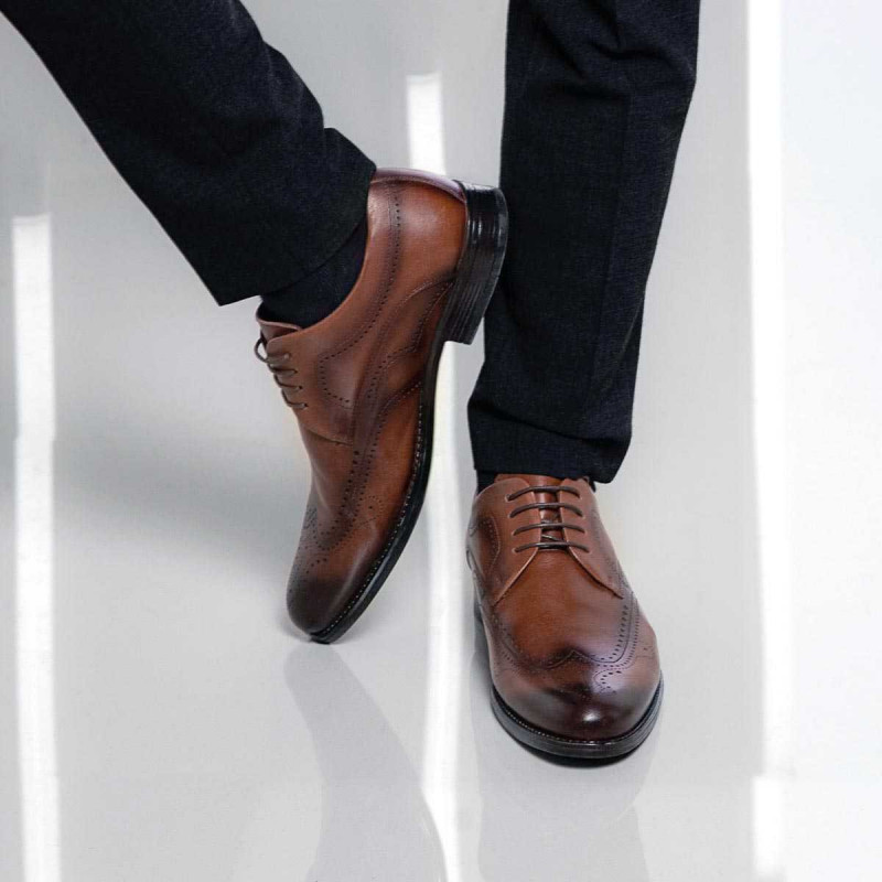 Pantofi eleganti barbati 907 a nisip lifestyle