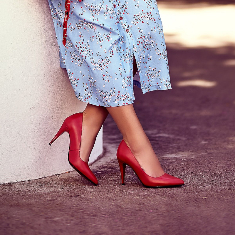 Pantofi eleganti dama 1246 rosu lifestyle