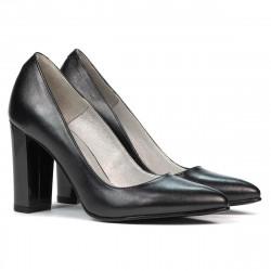 Women stylish, elegant shoes 1261 antracit pearl