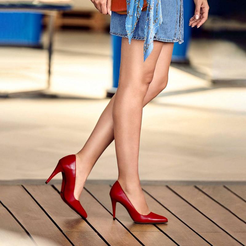 Pantofi eleganti dama 1246 lac rosu lifestyle