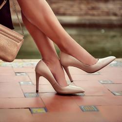 Pantofi eleganti dama 1276 nude