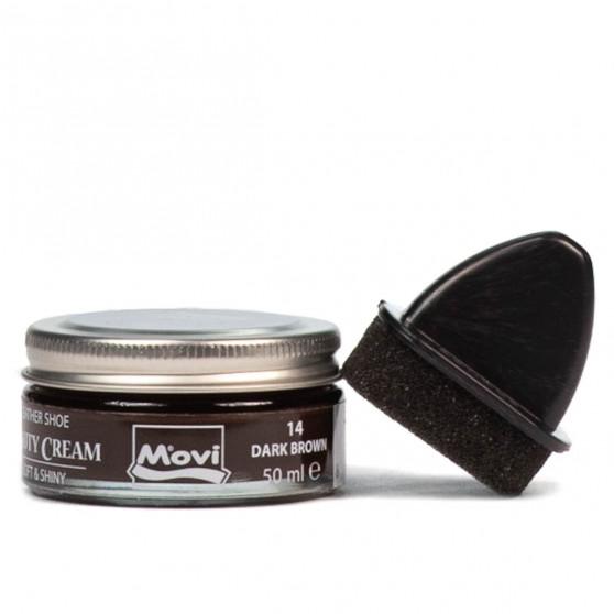 Leather care cream – 32a dark brown