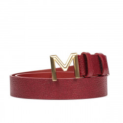 Women belt 13m biz red