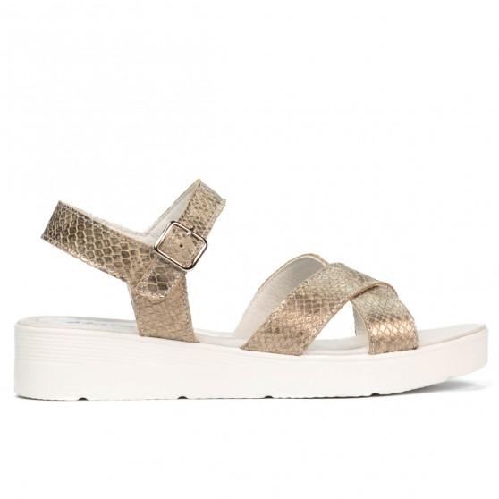 Sandale dama 5049-1 piton nisip