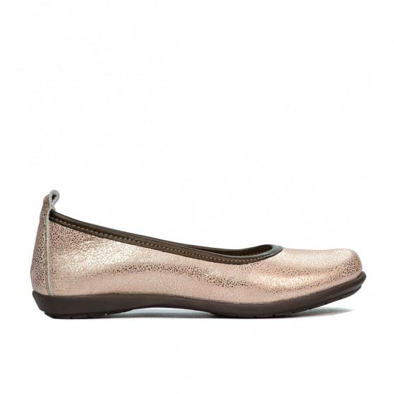 Pantofi copii 100-1 pudra sidef
