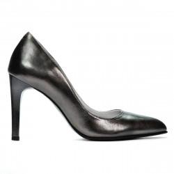 Pantofi eleganti dama 1276 argintiu sidef