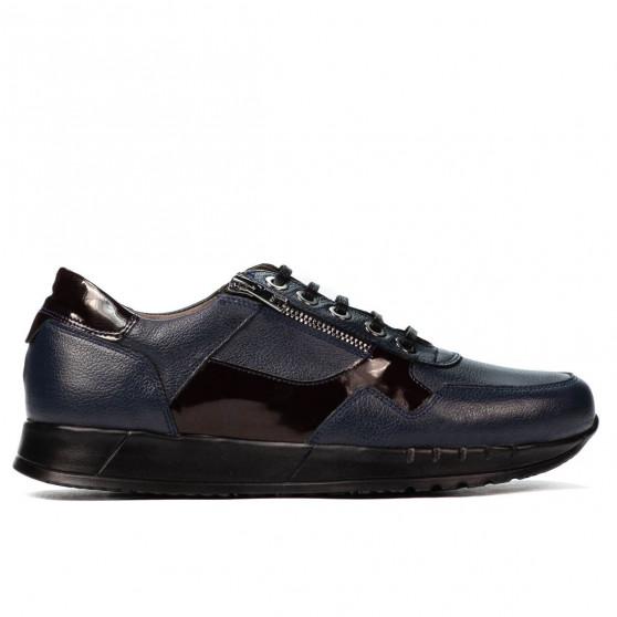 Pantofi casual/sport barbati 916 indigo combinat