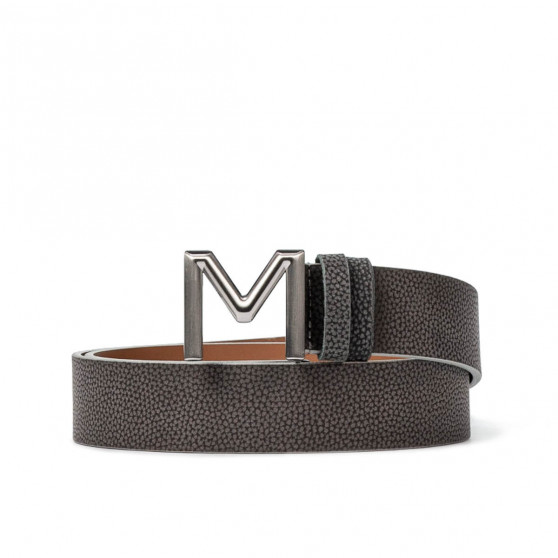 Women belt 08m biz gray