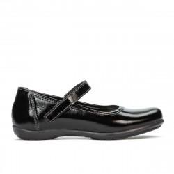 Pantofi copii 151-1 lac negru