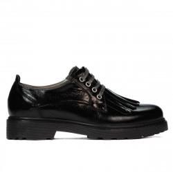 Pantofi casual dama 6025 lac negru