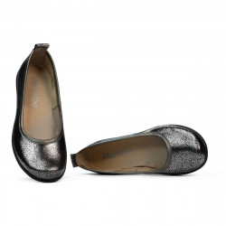 Children shoes 100-1 silver pearl