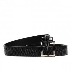 Women belt 18m black+piton black