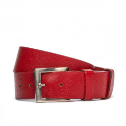 Men belt/women 01b red