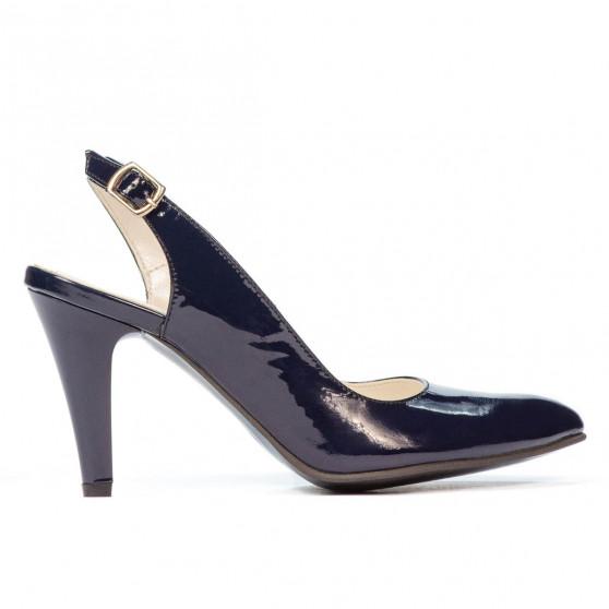 Women sandals 1236 patent indigo