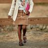 Pantofi copii mici 67c bordo sidef combinat lifestyle