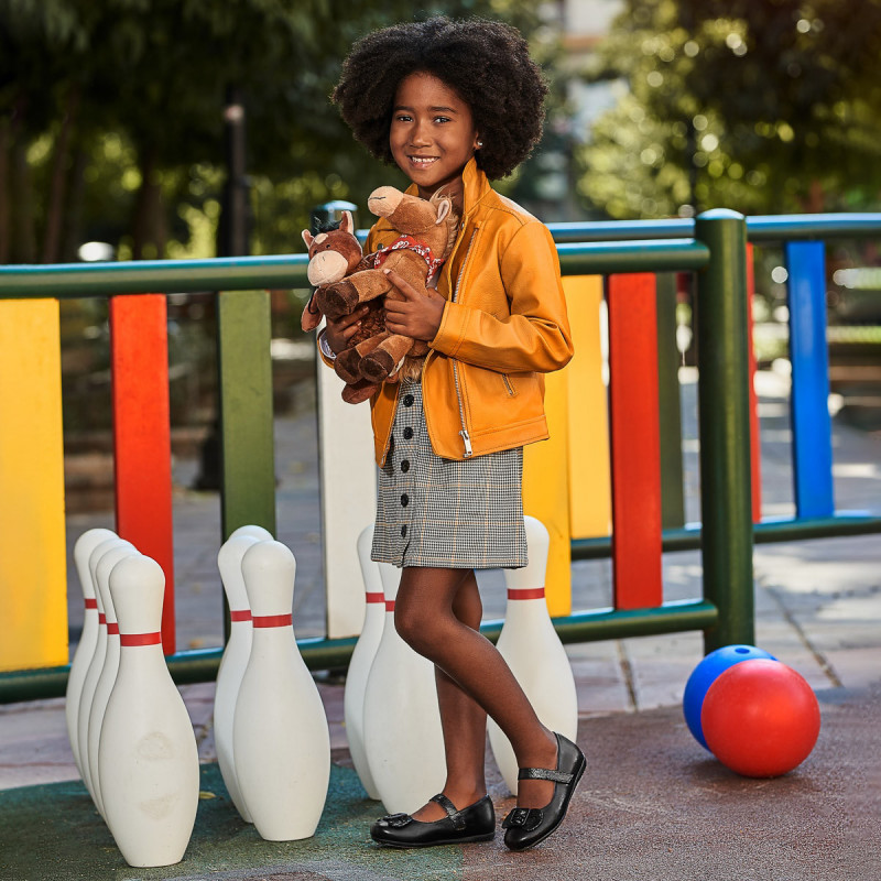 Pantofi copii mici 67c negru combinat lifestyle