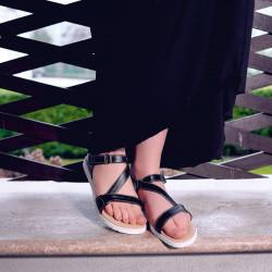 Women sandals 5039 black