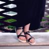 Sandale dama 5039 negru lifestyle