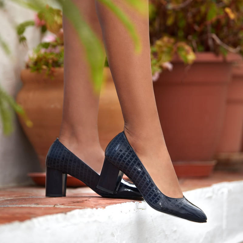 Pantofi eleganti dama 1268 lac indigo lifestyle