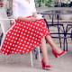 Pantofi eleganti/casual dama 1254 lac rosu lifestyle