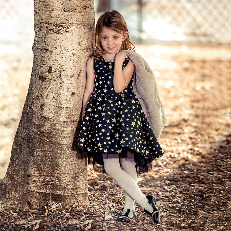 Pantofi copii mici 62c lac negru+bej lifestyle