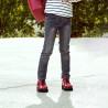 Pantofi copii 158 lac visiniu lifestyle